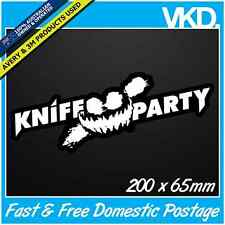Knife Party Sticker/Decal - Future Music Festival Dance Trance Electro Pendulum
