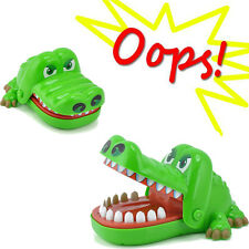 Funny Crocodile Mouth Dentist Bite Finger Game Toy Family Game For Kids Gift
