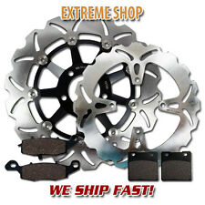 Suzuki FR+R Race Proven Stainless Steel Brake Rotor + Pads GS 500 (1996-2010)