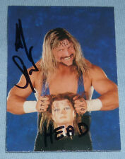 Al Snow Signed 1999 Comic Images SmackDown WWF WWE Card #11 Autograph w/ Head