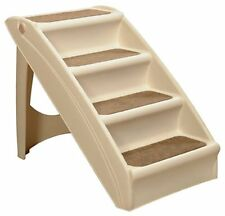 Pet Stairs Solvit PupStep Dog Cat Step Stool Climber Ramp Easy Ladder Portable