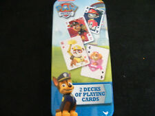 New Paw Patrol Playing Cards Gift Chase Marshall Zuma Rubble Rocky Ryder Skye!