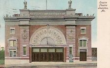Empire Theatre in Lewiston ME Postcard 1908