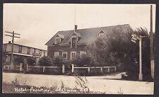 Circa 1906 Real Photo RPPC Postcard Hotel Pelletier ST. ANNE DES MONTS Quebec