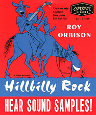 SUN ROCKABILLY REPRO: ROY ORBISON-HILLBILLY ROCK EP - Rockhouse/Ooby Dooby + 2