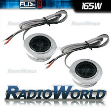 "FLI Comp 1 1"" Component Car Silk Dome Tweeters Pair 165W with crossover"