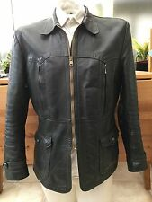 1940's Vintage German Leather Horse Hide Men's Jacket.