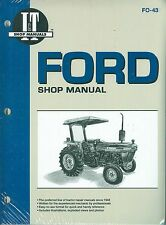 FORD TRACTOR SHOP MANUAL- MODELS 2810, 2910, 3910