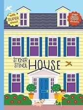 Sticker Stencil House (Create Your Own World) by Golding, Elizabeth
