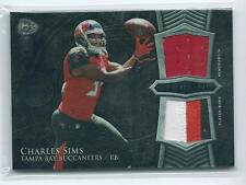 2014 Bowman Sterling Charles Sims DUAL PATCH / JERSEY RELIC RC BUCCANEERS