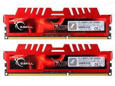 GSKILL 16GB (8GB X 2) DDR3 1600MHZ RIPJAWS X (F3-12800CL10D-16GBXL)