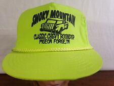 Men's Smoky Mountain Classic Chevy Roundup Pigeon Forge Tn Snapback Trucker Cap