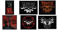 Danzig Sew On Patch/Patches NEW OFFICIAL. Choice of 6 designs