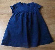 Cyrillus***Robe/Dress Velours côtelé Automne/Hivers Coton Bleu marine