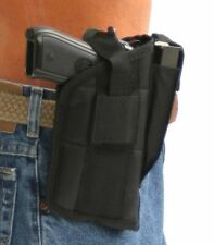 Quick Draw Pro-Tech Nylon Belt Gun Holster For Ruger SR-45 with Laser