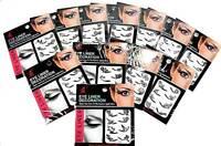 4 Paar Augen Tattoo Lidschatten Aufkleber Sticker Eyeliner Temporary  Euronorm