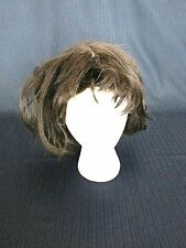 Wig Stylish Party Costume Halloween Brown Mid Length #1