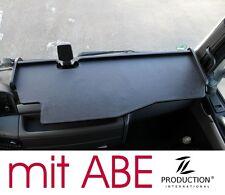 LKW Tisch Ablage mit ABE und Ausschnitt passend für MAN TGX XXL XLX XL, schwarz