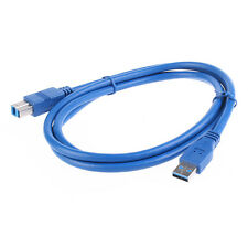 5FT/1.5 Meter USB 3.0 Type A Male to Type B Male Cable For Printer Print Scanner