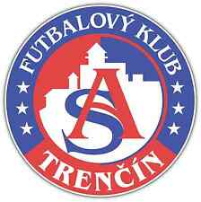 """FK AS Trenčín Trencin FC Slovakia Football Soccer Car Bumper Sticker Decal 5""""X5"""""""