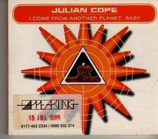 (CR366) Julian Cope, I Come From Another Planet, Baby - 1998 DJ CD