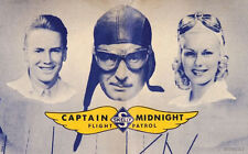 * CAPTAIN MIDNIGHT (OTR) OLD TIME RADIO SHOWS * 56 EPISODES on MP3 CD *
