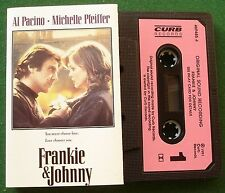 Frankie & Johnny OST Doobie Brothers Golden Earring + Cassette Tape - TESTED