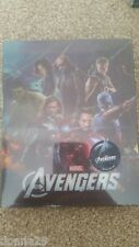 Marvel The Avengers Assemble 3D+2D Novamedia Lenticular Steelbook Blu-Ray Sealed