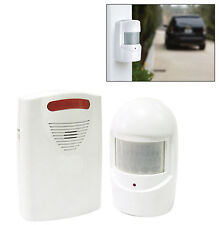 A9 WIRELESS DRIVEWAY ALERT System PIR Sensor HOME SECURITY Safety Alarm Chime