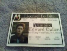 Twilight Saga ~ Edward's drivers license