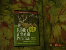 Building Whitetail Paradise Volume 4a (DVD, 2006) Awesome Paradise Bucks