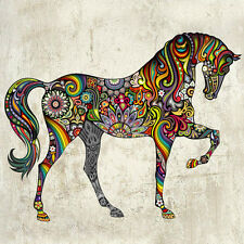 Removable Wall Sticker Animal Horse Art Vinyl Decals Home Decor Mural Kids Room