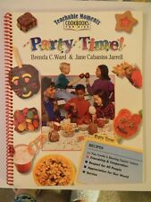 Party Time- by Brenda Ward and Jane C. Jarrell (1995, Spiral)-Cookbook for Kids