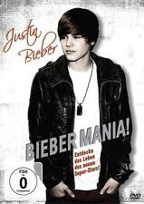 DVD, Bieber Mania (2011), Justin Bieber,  Film, Movie, Jugend Film, Kinder, Kult