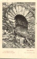 ALESIA fouilles juin 1906 une niche de cave pro alesia