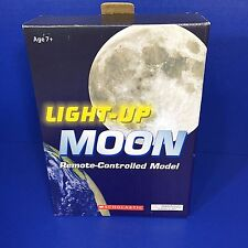 Scholastic Light Up Moon Remote Controlled Model Displays 8 Moon Phases Book