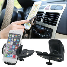 Car Mount CD Player Slot Cell Phone Holder For Samsung Galaxy S6/S6 Edge iPhone