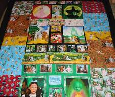 Wizard of Oz blankets, Custom Orders, Patchwork. Dorothy,Scarecrow,Tin Man, ect.