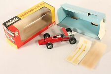 Solido 167 hasta, ferrari V 12 f.1, Mint en Box #ab735