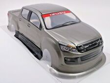 Pre-Painted RC Body 1/10th Scale Silver Pick-Up Truck IzuzuHPI Traxxas Kyohso