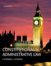 Diritto costituzionale e amministrativo/la Longman dizionario della legge da Bradley,