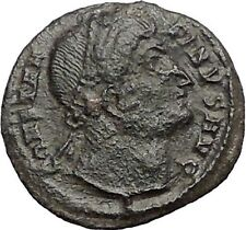 CONSTANTINE I the GREAT Heaven Gazing Very rare Ancient Roman Coin i56107