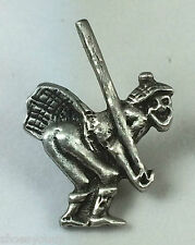 Cheeky Kilted True Scotsman Tossing the Cabre Handmade Pewter Lapel Pin Badge