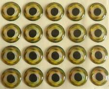 3d grbl Eyes/Ojos -12 mm-self adhesive 3d Eyes-autoadhesivo ojos