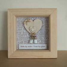 6th Wedding Anniversary Present (Traditional Sugar) Gift Keepsake PERSONALISED
