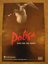Polica - Give you the Ghost - PROMO POSTER