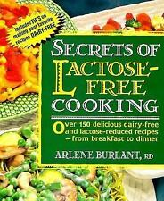 Secrets of Lactose-free Cooking-ExLibrary