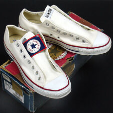 Vintage USA-MADE new-in-box Converse All Star Chuck Taylor sz 13 white AMERICAN