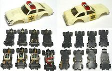 1981 Ideal Toys HO Slot Car Lit Parts Lot Dukes Sheriff