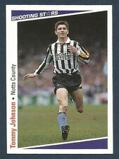 SHOOTING STARS-1991-92- #209-NOTTS COUNTY-TOMMY JOHNSON